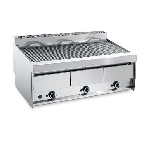 Grill vapeur gaz 1195x700 cm matriel de restauration for Machine vapeur cuisine