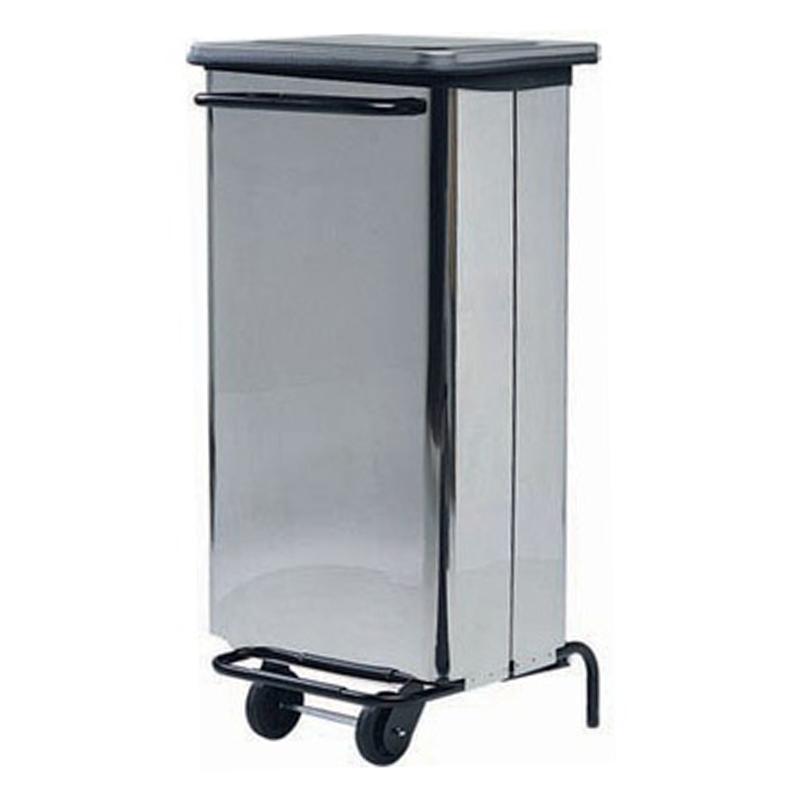 poubelle inox 100 litres av4652 restoconcept vous. Black Bedroom Furniture Sets. Home Design Ideas