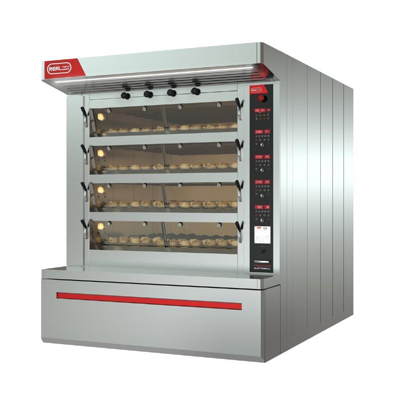 Four boulangerie electrique 8 bouches real forni - Machine a pain boulanger ...