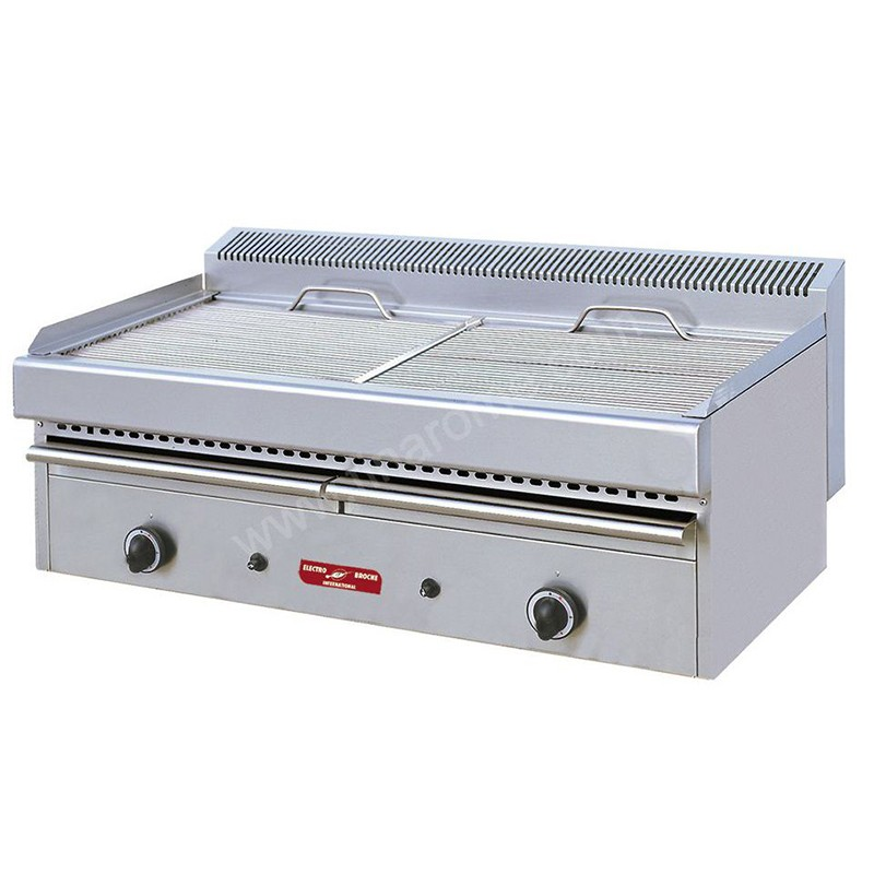 Grill vapeur gaz jackpot matriel de restauration matriel for Machine vapeur cuisine