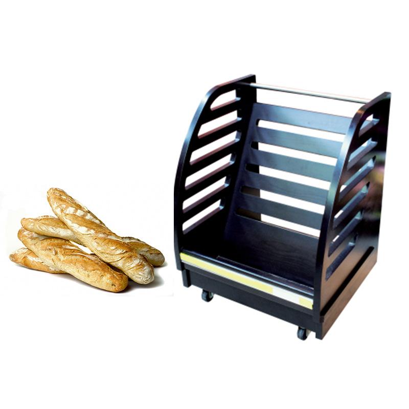 prsentoir pain avec roulettes modle 650 panetire. Black Bedroom Furniture Sets. Home Design Ideas