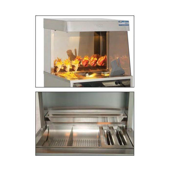 Maintien au chaud pour frite sur meuble mga frite - Maintien au chaud electrique ...