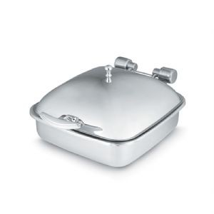 Chafing dish carré inox 5.8 L à induction VOLLRATH
