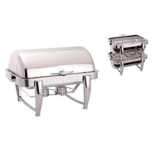 Chafing Dish GN1/1 empilable finition miroir poli