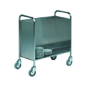 Chariot de transport en inox DIAMOND