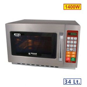 Four micro-ondes en inox 34 L digital