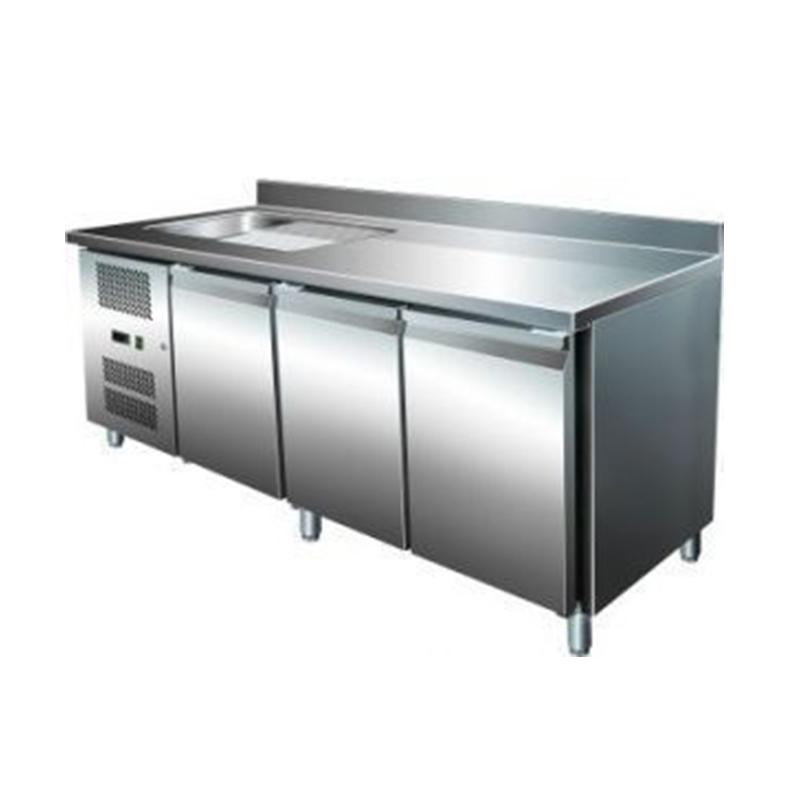 Table Refrigeree Avec Evier Gn 2100 Tns Table Refrigeree 3