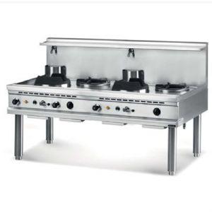 fourneau wok gaz 3 feux ngwr 16 90 restoconcept vous propose un fourneau work extr nement. Black Bedroom Furniture Sets. Home Design Ideas