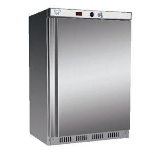 Mini Armoire Réfrigérée Positive Acier Inox 130 L