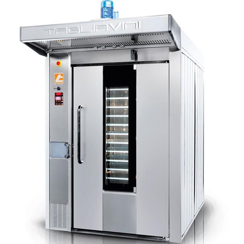 Four boulangerie gaz rotatif 800x1000mm matriel de - Four professionnel de cuisine ...