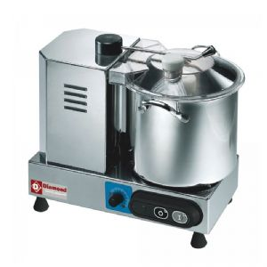 Cutter inox 6 L  DIAMOND