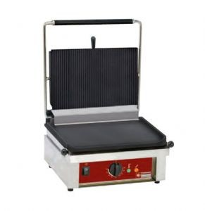 Contact-grill MEDIUM Rainurée/Lisse DIAMOND