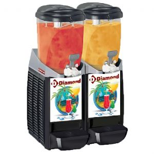 Machine/distributeur granita 2 x 5,5 L DIAMOND