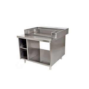 Table inox pour vitrine chaude HD2 ARCHWAY